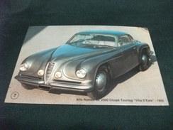 CAR AUTO ALFA ROMEO 6C 2500 COUPE' TOURING VILLA D'ESTE 1950 PIEGA - Passenger Cars