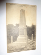 NESLE - HODENG :souvenir De L'inauguration Du Monument Aux Morts De La Guerre 1914-1918 Le  18 Septembre 1921 - France