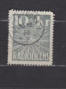 OLD REVENUE STAMP STEUERMARKE TIMBRE FISCAL  SWEDEN SCHWEDEN SUEDE RADIO LICENCE  1958 - 10 Kr KARLSKRONA - Steuermarken