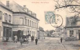60 - OISE / 602639 - Cuts - Rue De Noyon - Beau Cliché Animé - France