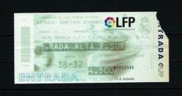 Real Madrid - Celta De Vigo  (año 2000) - Tickets - Entradas