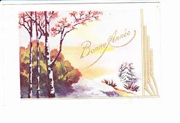 BONNE ANNEE, Paysage De Neige, Ed. EAP 1947 - Nouvel An