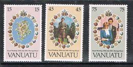 VANUATU N°628 A 630 N** - Vanuatu (1980-...)