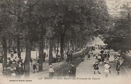 CPA 29 BREST COURS DAJOT LA PROMENADE DES ENFANTS - Brest