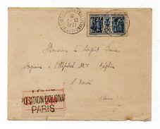 Enveloppe Recommandé Exposition Coloniale Paris 1931 Oblitération Superbe. - 1921-1960: Moderne