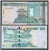 MALAWI  : Banconota 50 Kwacha -commemortiva - P49 - FDS - Malawi