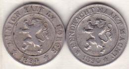 BELGIQUE. 10 CENTIMES 1894. LEOPOLD II . Légende Française Et Légende Flamand - 1865-1909: Leopold II