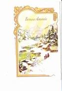 BONNE ANNEE, Paysage De Neige Et Village En Montagne, Rivière, Ed. M.D. 1967 - Nouvel An