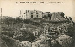 BELLE ILE  EN MER SAUZON LE FORT DE SARAH BERNARDT - Belle Ile En Mer