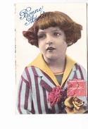 BONNE ANNEE, Petit Garçon En Costume De Marin, Roses, Ed. M.L. Paris 1930 - Nouvel An