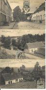 GRANDE   ESPINETTE    3 CARTES    PAYSAGES ET CHAUSSEE   (  ECRITES  1908 ) - Rhode-St-Genèse - St-Genesius-Rode