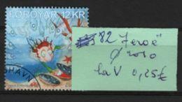 82  --feroe La V Oblitérée De 2010 - 1956