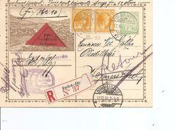 Luxembourg ( EP+affranchissement Complémentaire Contre Remboursement De 1930 De Esch-sur-Alzette Vers L'intérieur à Voir - Luxembourg