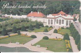 CZECH REPUBLIC(chip) - Prague Baroque Gardens, Cesky Telecom Telecard 50 Units, 04/00, Used - Paesaggi