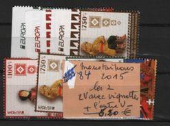 84  -nagorno  Les 2 V + Les 2 V Avec Vignettes - 1956