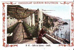 Chromo Guerin Boutron  Golfe De Salerne - Guerin Boutron