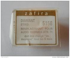 ZAFIRA DIAMANT STEREO NEUF SCELLE REFERENCE 5158 POUR AUDIO TECHNICA ATN 71 TOURNE DISQUE CHAINE HIFI - Accessoires, Pochettes & Cartons