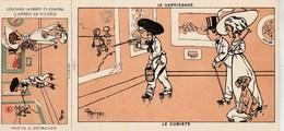CPA ILLUSTRATEUR MARECHAUX A COLORIER COMPLETE DE LA PARTIE A DETACHER LE VERNISSAGE LA CUBISTE - Illustratori & Fotografie