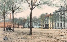 Liège - Place Maghin (colroisée, Tram, Tramway, Edit Grand Bazar 1906) - Liege