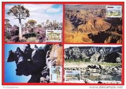 NAMIBIA, 1990, Mint Maxi Cards, Sa Nr. 4-7, Tourism F3834 - Namibië (1990- ...)