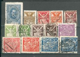 TCHECOSLOVAQUIE ; 1920-1923 ; Y&T N°; Lot : 13 ; Oblitéré - Czechoslovakia