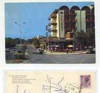 Metaponto Lido (Bernalda/Matera) - Lungomare Nettuno - Viaggiata 1970 (Insegna Campari-Hotel Kennedy) - Matera