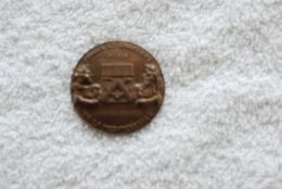 Médaille Des Forges Et Chantier De La Mediterrannee Pour Le Lancement Du King Leonidas Le 6 Avril 1963 - Boats
