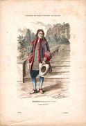 COSTUMES DE PARIS A TRAVERS LES SIECLES SEIGNEUR VERS LA FIN DU XVIIe SIECLE - Prints & Engravings