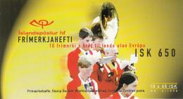Iceland 1998 Booklet Of 10 Scott #861 65k Band, Parade Independence Day EUROPA - Fêtes