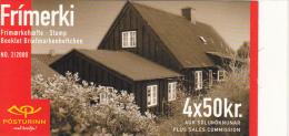 Iceland 2000 Booklet Of 4 Scott #908a 50k Steamroller - Carnets