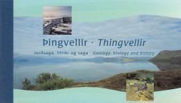 Iceland 2002 Booklet Scott #974b Fish Of Lake Thingvellir 1st Printing - Carnets