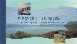 Iceland 2002 Booklet Scott #974b Fish Of Lake Thingvellir 1st Printing - Neufs