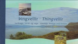 Iceland 2002 Booklet Scott #974b Fish Of Lake Thingvellir 2nd Printing - Carnets