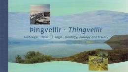 Iceland 2002 Booklet Scott #974b Fish Of Lake Thingvellir 3rd Printing - Carnets
