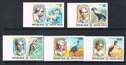 HAUTE-VOLTA N°357, 358 N**  ET AERIEN N°190 A 192 N**  NON DENTELE, Oiseaux - Opper-Volta (1958-1984)