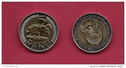 SOUTH AFRICA,  2013,  Circulated Coin 5 Rand, Wildebeest, C1460 - South Africa