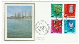 Suisse // Schweiz // Switzerland //  Pro-Juventute  // 1981 Série Complète Sur Lettre 1er Jour - Lettres & Documents