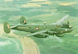Avro Shackleton AEW2 From No.8 Squadron RAF  -  CPM - 1946-....: Ere Moderne
