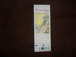 ANCIEN MARQUE PAGE  / PUB   /  BD  VESDRE FESTIVAL 2ième EDITION 2007 - Marque-Pages