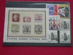 Chypre,  Lot De 6 T.P.oblit.+1 Bloc - Chypre