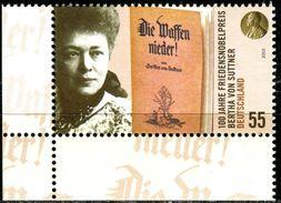 BRD - Michel 2495 ECKE LIU - ** Postfrisch (A) - 55C  Bertha Von Suttner - Nuevos