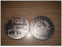 Uzbekistan 100 Som 2009 AUNC Commemorative Coin (Toshkent - 2200 Y.) - Uzbenisktán