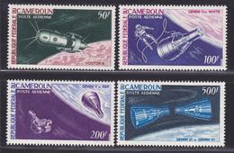 CAMEROUN AERIENS N°    70 à 73 ** MNH Neufs Sans Charnière, TB (D0875) Cosmos, Gémini, Vostok - Cameroon (1960-...)