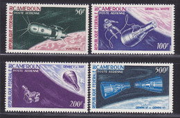 CAMEROUN AERIENS N°    70 à 73 ** MNH Neufs Sans Charnière, TB (D0875) Cosmos, Gémini, Vostok - Kamerun (1960-...)