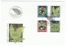Suisse // Schweiz // Switzerland //  Pro-Juventute  // 1993 Série Complète Sur Lettre 1er Jour - Lettres & Documents