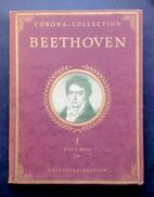 Musica Spartito - Beethoven - Celebrated Piano Compositions - N.303 - 1930 C.a - Old Paper