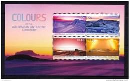 Australian Antarctic 2015 Colours Of The AAT Minisheet MNH - Unused Stamps