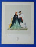 Collezionismo Menu LLoyd Adriatico - Nave Francesco Crispi - 10 Gennaio 1940 - Menus