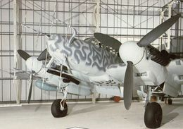 Messerschmitt Bf 110G-4D/R3, Captured At Knokke, Belgium  -  CPM - 1939-1945: 2ème Guerre