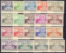 Guadeloupe N° 178 - 196 * Série De Londres - Guadalupe (1884-1947)